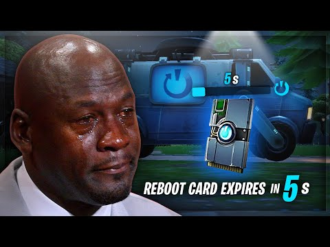 Fortnite MEMES I watch while my reboot card expires