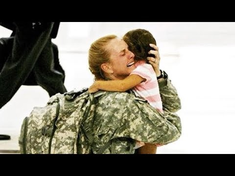 Soldiers Coming Home Emotional Compilation