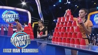 Stack Attack | Minute To Win It - Last Teen Standing
