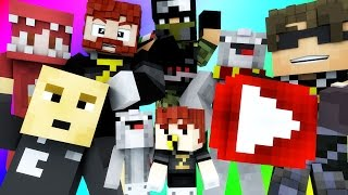 Minecraft Mini-Game : DO NOT LAUGH! (MAX CHOKES ME, DR SKY) w/ Facecam