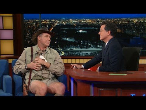 Will Ferrell Exotic Animal Expert