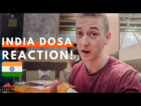 Xxx Mp4 SOUTHERN Indian Food Trying Ghee Dosa For First Time 🇮🇳 3gp Sex