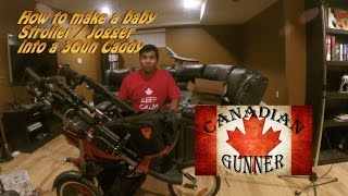 How to make/rig a baby stroller to be a 3Gun Cart