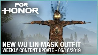 For Honor: New Wu Lin Mask | Week 05/16/2019 | Weekly Content Update | Ubisoft [NA]