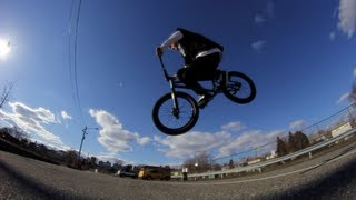 How to Hop Flat 360 BMX