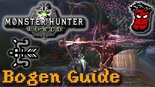 Monster Hunter World: Bogen Tutorial / Guide + Tipps zu Rüstung, Build   Gameplay [German Deutsch]