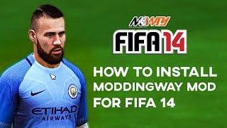 New tutorial 2017: How to Install Fifa 14 Moddingway mod.