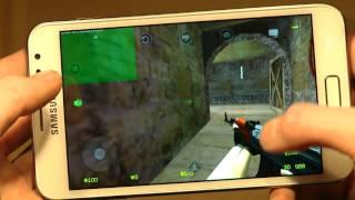Counter Strike 1.6 Portable Gameplay Samsung Galaxy