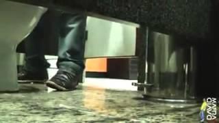 Pegadinha da Gozada no pé