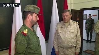 الدفاع الروسية تكرّم العميد في الجيش السوري سهيل الحسن