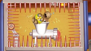 The Buddy  Sleeps In Meat Grinder | Kick The Buddy Game Hot 2019