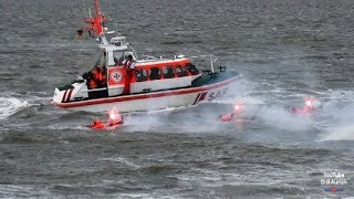 SOS 3 Mann über Bord Tag der Seenotretter 2017 DGzRS Wilhelmshaven SAR Rettung aus Seenot