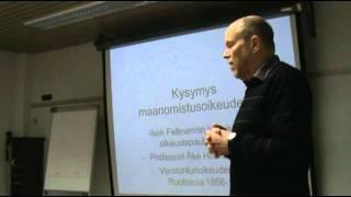 2011 Juha Joonan luento Lapin kylien oikeuksista.mp4