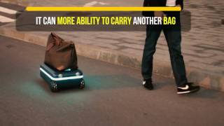 Travelmate Suitcase - A Fully Autonomous Suitcase And Robot