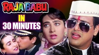 Hindi Comedy Movie | Raja Babu | Showreel | Govinda | Karisma Kapoor | Bollywood Movie
