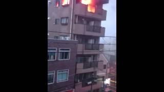 Apartment Fire, Tokyo Japan 11/2/2015