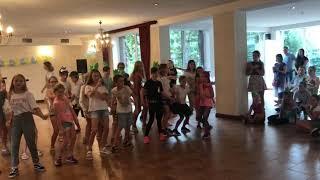 Stovyklautojų šokis, kurtas choreografo Pauliaus Šinkūno :)