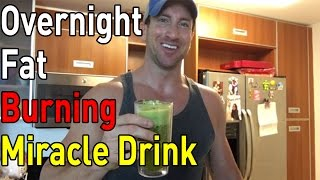 Lose Weight FAST with this Bed Time Fat Cutting Drink! (How To Lose Belly Fat Overnight Drink!)
