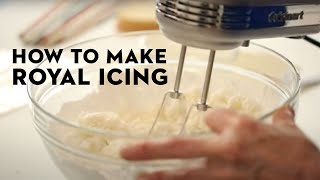 The Only Royal Icing Recipe You