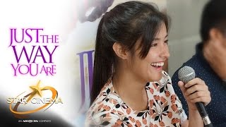 The scene Liza Soberano felt shy to do in 'Just The Way You Are'