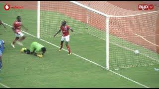 Goli la Okwi lililoidhoofisha Azam FC vs Simba katika mbilio za Ubingwa VPL