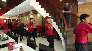 Agra Pizza hut dance special