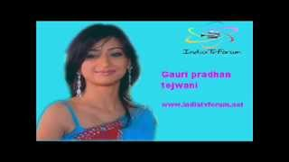 Gauri Pradhan Tejwani interview  15 sept 2012
