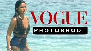 Katrina Kaif Bikini VOGUE Photoshoot 2016