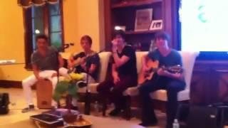 Riley McDonough sings click 5