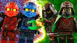 LEGO NINJAGO THE MOVIE - HANDS OF TIME PART 1 - DAWN OF THE VERMILLION