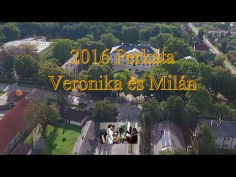 Veronika és Milán legszebb pillanatai