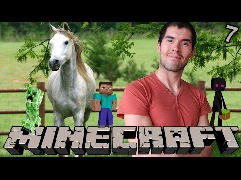 MI PROPIO CABALLO Minecraft Parte 7 JuegaGerman