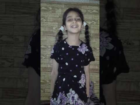 ek murgi the jis ka name .... very very funny video of little cute girl
