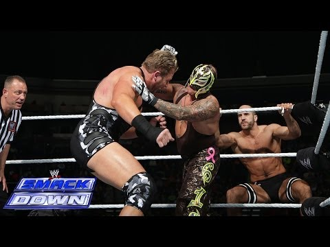 Rey Mysterio & Big Show vs. The Real Americans: SmackDown, Dec. 6, 2013