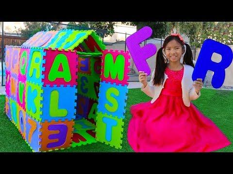 Xxx Mp4 ABC Playhouse Song Wendy Pretend Play W ABCs Toys Learns The Alphabet Nursery Rhymes Songs 3gp Sex