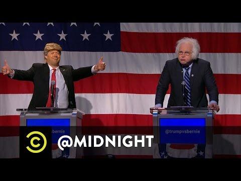 Trump vs. Bernie in the First Ever @midnight Presidential Debate