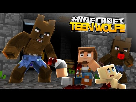 Minecraft TEEN WOLF DONUT EATS BABY MAX ALIVE donut the dog minecraft roleplay