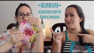 ABSORVENTES SEM ALERGIA E ECOLOGICOS (KORUI) - My Click Tip