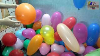 """The Balloons Popping Show"" for LEARNING COLORS - Children"