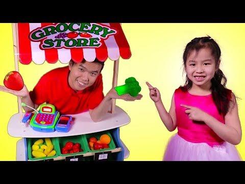 Xxx Mp4 Jannie Buy Kitchen Toys Vegetables From The Supermarket – Fun Pretend Play 3gp Sex