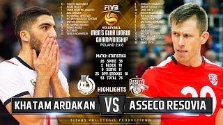 Khatam Ardakan vs. Asseco Resovia | Highlights | FIVB Club World Championship 2018
