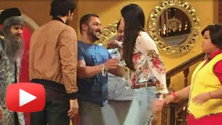 Salman Khan's Cute Surprise For Katrina Kaif | Comedy Nights Live