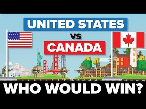 Xxx Mp4 United States USA Vs Canada 2017 Who Would Win Army Military Comparison 3gp Sex