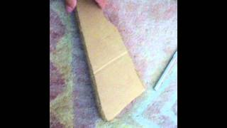 How To Make A Paper Mâché Ak-47 Part 1