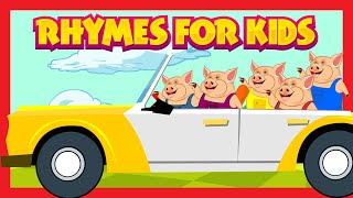 RHYMES FOR KIDS | Rhymes Compilation For Kids | English Nursery Rhymes | Learning Videos