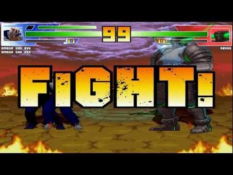 Mugen Fight Channel 83 Omega God Ryu & Omega God Ken vs Abyss