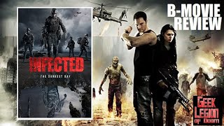 DARKEST DAY ( 2015 Dan Rickard )  B-Movie Zombie Movie Review