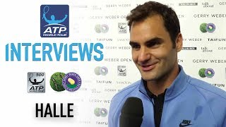 Roger Federer On 'Cloud Nine' After Ninth Halle Title 2017