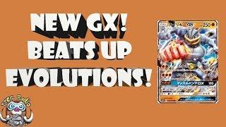 Machamp GX - New Pokémon GX Beats up Evolution Pokémon (Evolved Pokémon)