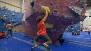Emil Is Having An Epic Climbing Day!